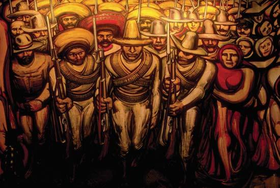 Muralismo en m xico david alfaro siqueiros industrialized for El mural de siqueiros